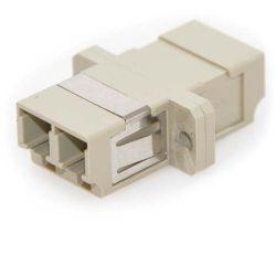 LC/LC Female to Female Multimode Duplex Fiber Coupler (10 Pack)