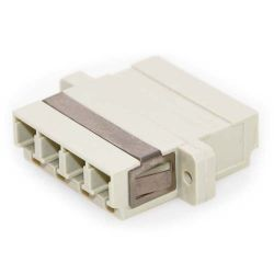 LC/LC Female to Female Multimode Quad Fiber Coupler