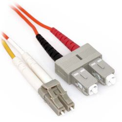CSS5-CABSX-LCSC-1M Cisco Compatible 1m LC/SC Duplex 62.5/125 Multimode SX Fiber Cable