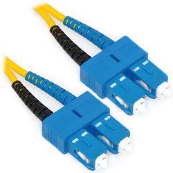 CAB-SMF-SC-50 Cisco Compatible 50ft SC/SC Duplex 9/125 Single mode Fiber Cable