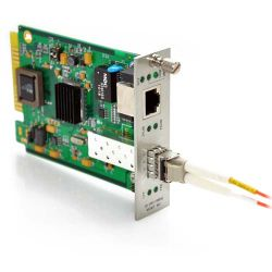 10/100/1000TX to 1000SX SFP with Multimode LC Connector 550m Media Converter Card