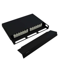 1U Telescoping Rackmount Fiber Enclosure