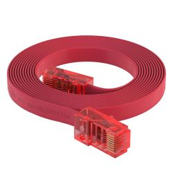 6ft RJ45 to RJ45 Rollover Console Cable for Cisco Red