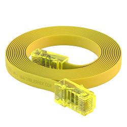 6ft RJ45 to RJ45 Rollover Console Cable for Cisco Yellow