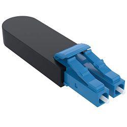 LC Fiber Optic Singlemode 9/125 Loopback Adapter for Fiber Cable Testing
