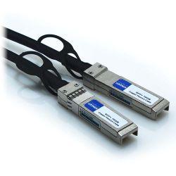 2m SFP+ 24AWG 10GB Passive Direct Attach Copper Twinax Cable Black