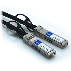 2.5m SFP+ 24AWG 10GB Passive Direct Attach Copper Twinax Cable Black