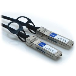 1m SFP+ 30AWG 10GB Passive Direct Attach Copper Twinax Cable Black