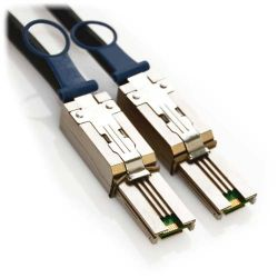 0.5m Mini SAS External 8088 26-Pin Cable with Pull Latch