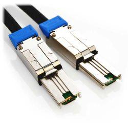0.5m External HD Mini-SAS SFF-8644 to External HD Mini-SAS SFF-8644 Cable