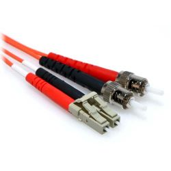 15m LC/ST Duplex 50/125 Multimode Fiber Patch Cable