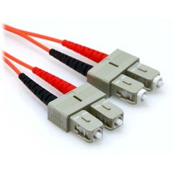 20m SC/SC Duplex 50/125 Multimode Fiber Patch Cable