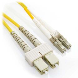 CAB-SM-LCSC-4M Cisco Compatible 4m LC/SC Duplex 9/125 Singlemode Fiber Patch Cable